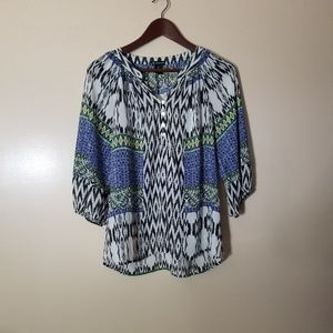 New Directions Flowy Loose Fitting Top